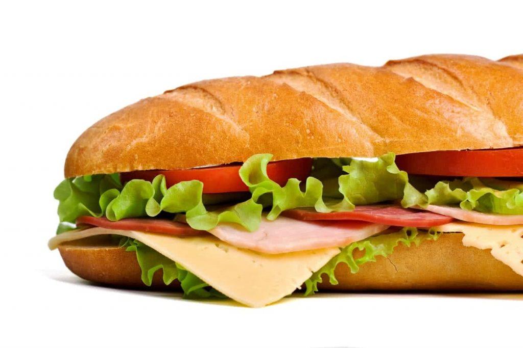 un bon sandwich à grignoter