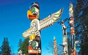 Un Totem Amérindien