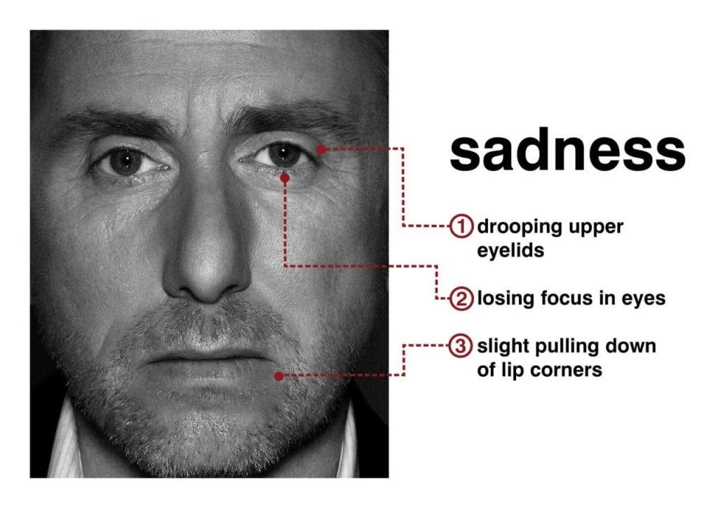 Emotion tristesse - lie to me