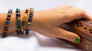 bracelet pour lithothérapie
